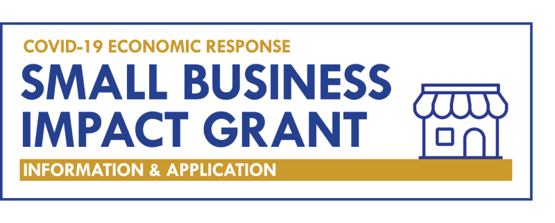 Small Business Impact Grant Logo
