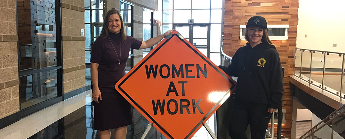 Mayor Wilson Women at Work event