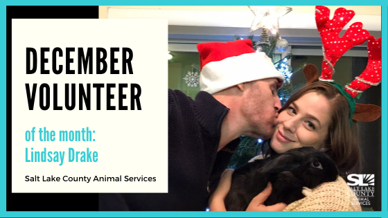 December Volunteer of the Month: Lindsay Drake