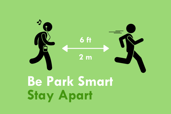Be Smart Stay Apart logo