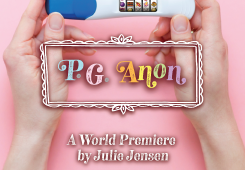 on the subject of P.G. Anon at Plan-B Theatre