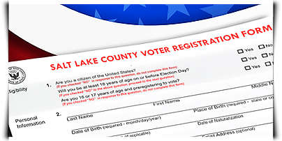 Voter Registration Form Photo
