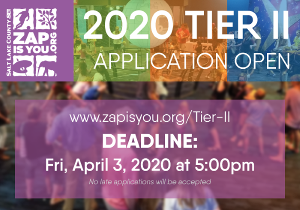 2020 Tier II Application Open