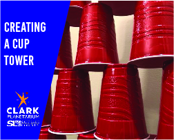Creating a cup tower