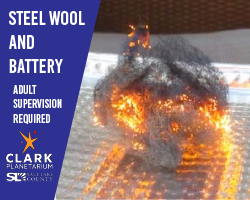 Steel Wool and Battery
