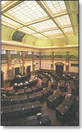 State House of Representatives chambers