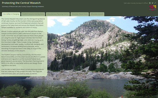 protecting the central wasatch map