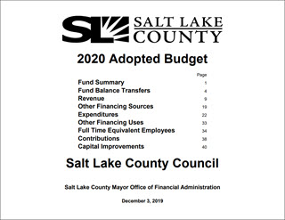 2020 Adopted Budget