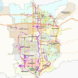 Existing/Built Bicycle Routes