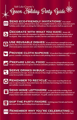 green holiday recycling guide