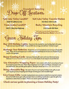 Holiday Recycling Guide page 2