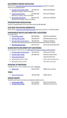 Recycling Guide page 2