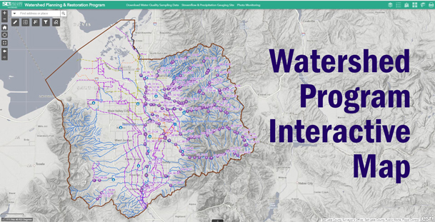Watershed Program Interactive Map