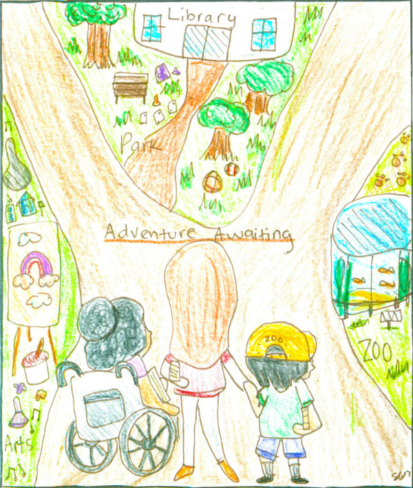 adventure is right outside your front door by Sophia