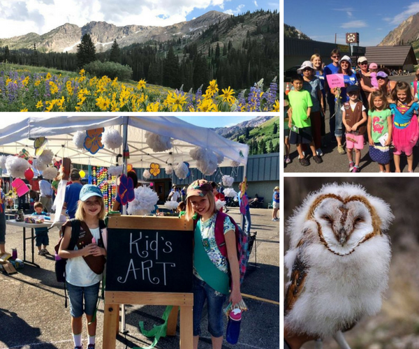 Explore ZAP- Alta Kids Day with Alta Community Enrichment, Hawkwatch