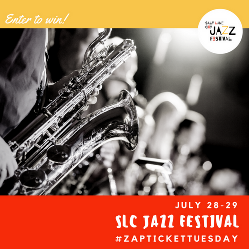 Ticket Tuesday- SLC Jazz Festival