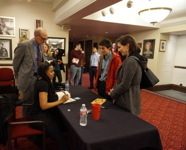 suzan-lori parks signs student books