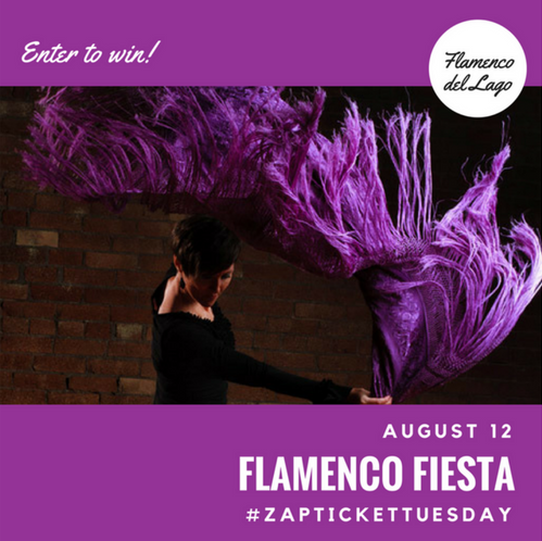 Ticket Tuesday- Flamenco del Lago