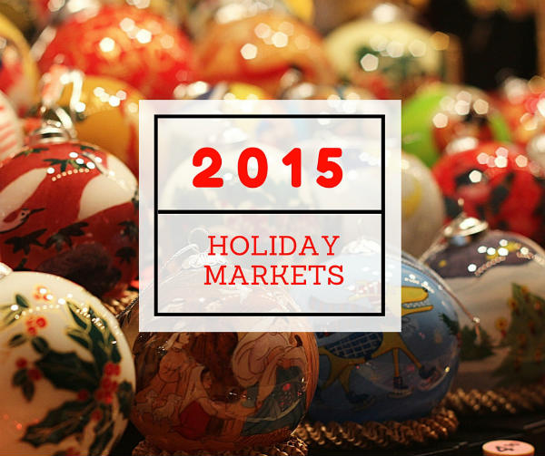 2015 Holiday Markets