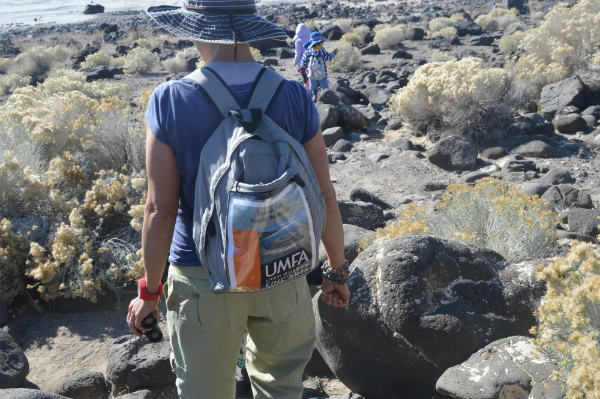 umfa spiral jetty backpack for family trip