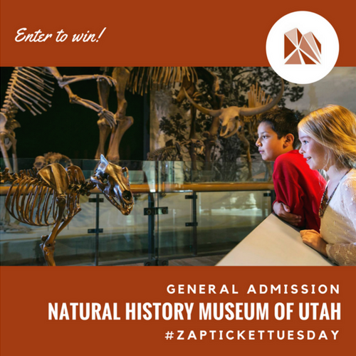 Ticket Tuesday with Natural History Museum of Utah 2017