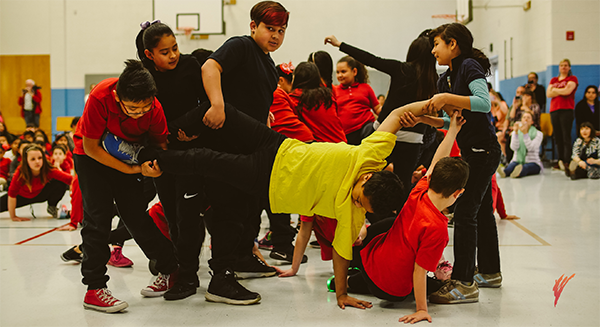 North Star Elementary Kids in Motion Residency Program