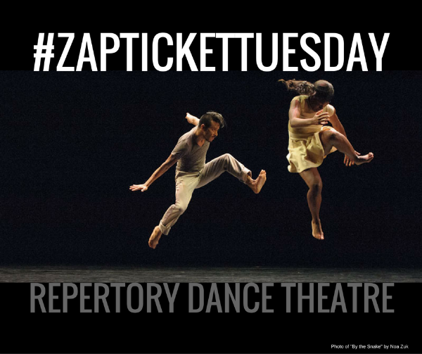 ticket tuesday giveaway with repertory dance theatre