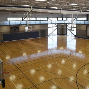 Gym Northwest Recreation Center Slco
