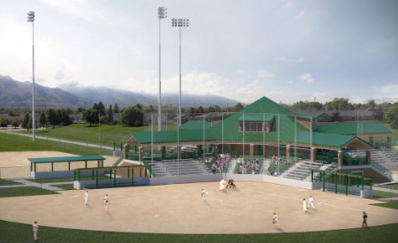 Larry H Miller Softball Complex Renovation