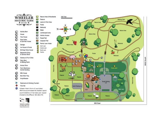 Wheeler Farm map